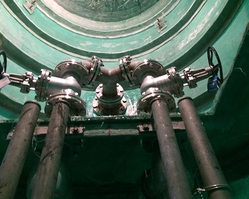 上海泵站内部阀门
