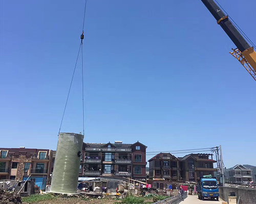 上海一体化泵站装吊装