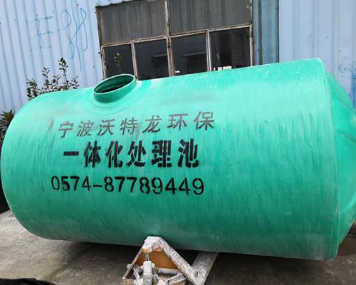 上海玻璃钢一体化处理池
