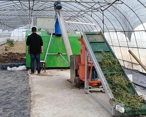农林废弃物果蔬叶处理设备