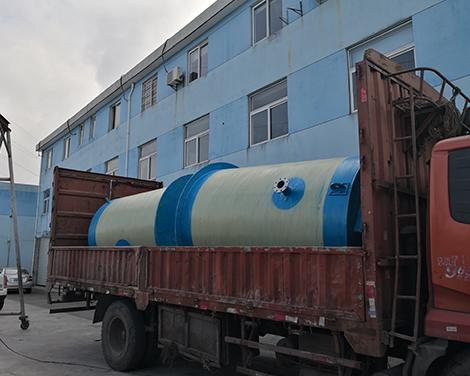 上海农村污水改造一体化泵站