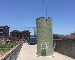 一体化泵站装运